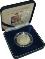 Изображение Подарочные монеты Италия 500 лир 1993 Серебро Proof Mонета Италии номина