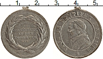 Изображение Монеты Ватикан Медаль 0 Олово VF Пий IX (Отломано ушк