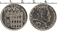 Изображение Монеты Монако 1 франк 1978 Медно-никель UNC- Ранье III