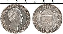 Изображение Монеты Саксония 1 талер 1852 Серебро XF F Фридрих Август