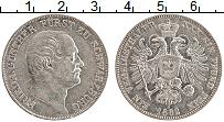 Продать Монеты Шварцбург-Зондерхаузен 1 талер 1866 Серебро