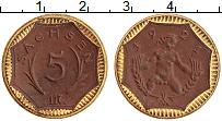 Изображение Монеты Германия : Нотгельды 5 марок 1921 Фарфор UNC Саксония