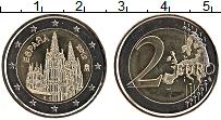 Изображение Монеты Испания 2 евро 2012 Биметалл UNC- Кафедральный собор в
