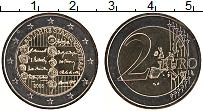 Изображение Монеты Австрия 2 евро 2005 Биметалл UNC- 50 лет договора о не