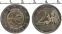 Изображение Монеты Нидерланды 2 евро 2009 Биметалл UNC- 10 лет Экономическом