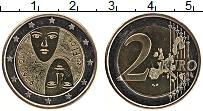 Изображение Монеты Финляндия 2 евро 2006 Биметалл UNC- 100 лет равного изби