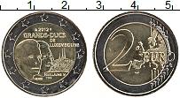 Изображение Монеты Люксембург 2 евро 2012 Биметалл UNC- Великий герцог Анри