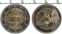Изображение Монеты Португалия 2 евро 2007 Биметалл UNC- 50 лет подписания Ри