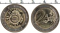 Продать Монеты Словения 2 евро 2012 Биметалл