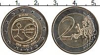 Изображение Монеты Мальта 2 евро 2009 Биметалл UNC- 10 лет Экономическом