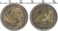 Изображение Монеты Италия 2 евро 2004 Биметалл UNC- ФАО