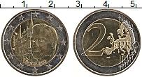 Изображение Монеты Люксембург 2 евро 2007 Биметалл UNC- Дворец Великого Герц