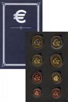 Изображение Подарочные монеты Ватикан Пробный евронабор 2008 2008  UNC