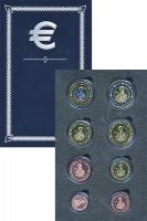 Изображение Подарочные монеты Лихтенштейн Европроба 2005 2005  UNC