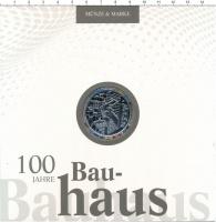 Изображение Подарочные монеты Германия 20 евро 2019 Серебро Proof 100 лет школы Баухау