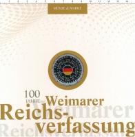 Изображение Подарочные монеты Германия 20 евро 2019 Серебро Proof 100 лет Веймарской к