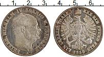 Изображение Монеты Пруссия 1 талер 1859 Серебро VF А. Фридрих Вильгельм