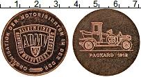 Изображение Монеты ГДР Жетон 0 Медь UNC- ADMV. Автомобиль Pac