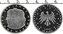 Изображение Монеты Германия 10 евро 2012 Серебро Proof- F. 200 лет Братьям Г