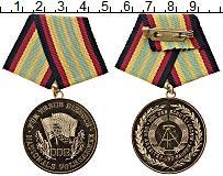 Изображение Монеты ГДР Медаль 0 Латунь UNC- За безупречную служб