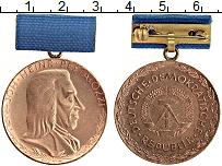 Изображение Монеты ГДР Медаль 0 Бронза UNC- За верную службу. Ме