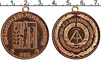Изображение Монеты ГДР Медаль 0 Бронза UNC- На защите труда и со