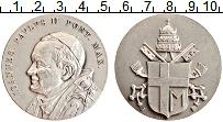 Изображение Монеты Италия Медаль 0 Посеребрение UNC Иоанн Павел II