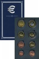 Изображение Подарочные монеты Эстония Европроба 2003 2003  UNC Годовой набор пробны