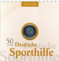 Изображение Подарочные монеты Германия 20 евро 2017 Серебро Proof 50 лет Немецкого фон