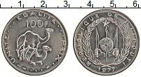 Продать Монеты Джибути 100 франков 2004 Медно-никель