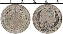 Изображение Монеты Венгрия 20 крейцеров 1848 Серебро XF Фердинанд I