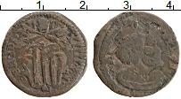 Изображение Монеты Ватикан 1 кватрино 0 Медь VF Бенедикт XIV