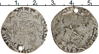 Изображение Монеты Испания 1/5 талера 1532 Серебро VF Филипп II