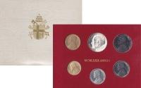 Изображение Подарочные монеты Ватикан 1979 ANNO I 1979  UNC Первый год правления