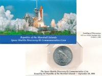 Изображение Подарочные монеты Маршалловы острова 5 долларов 1988 Медно-никель UNC