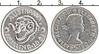 Изображение Монеты Австралия 1 шиллинг 1961 Серебро XF Елизавета II. Баран