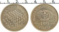 Изображение Монеты Венгрия 100 форинтов 1984 Медно-никель UNC- Всемирный лесной кон