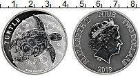 Изображение Монеты Ниуэ 2 доллара 2019 Серебро Proof Елизавета II. Черепа