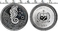Изображение Монеты Самоа 2 тала 2019 Серебро Proof- Морской конек