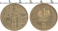 Изображение Монеты Польша 2 злотых 2009 Латунь XF 65 лет Варшавского в