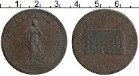 Изображение Монеты Великобритания 1 пенни 1813 Медь XF Токен. Шеффилд