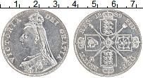 Изображение Монеты Великобритания 1 флорин 1889 Серебро XF Виктория
