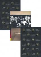 Изображение Подарочные монеты Германия Нумизматический жетон 2012 Биметалл UNC- Набор нумизматически