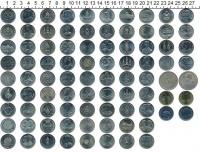 Изображение Наборы монет Таиланд Набор 2-батовых монет 0  UNC-