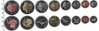 Изображение Наборы монет Саба Саба 2011 2011  UNC В наборе 8 монет ном