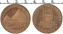 Изображение Монеты ФРГ Жетон 1974 Бронза XF Гамбург
