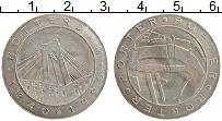Изображение Монеты Нидерланды Жетон 1990 Медно-никель XF 650 лет Роттердаму