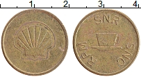 Изображение Монеты ФРГ Жетон 0 Латунь XF RPM SNR SNC