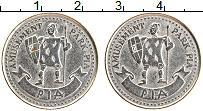 Изображение Монеты Великобритания Жетон 0 Медно-никель XF Игровой жетон парк P