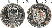Изображение Монеты Великобритания Жетон 1996 Медно-никель XF Футбол. Девид Платт